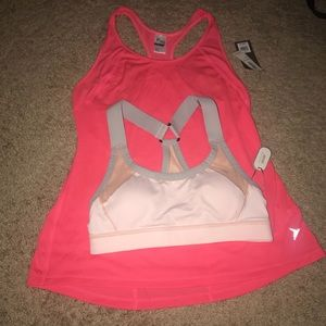 NEW Sports Bra and Workout Tank Top Aerie Old Navy